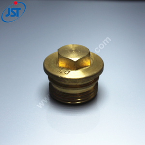Custom Precision CNC Turning Brass Auto Parts